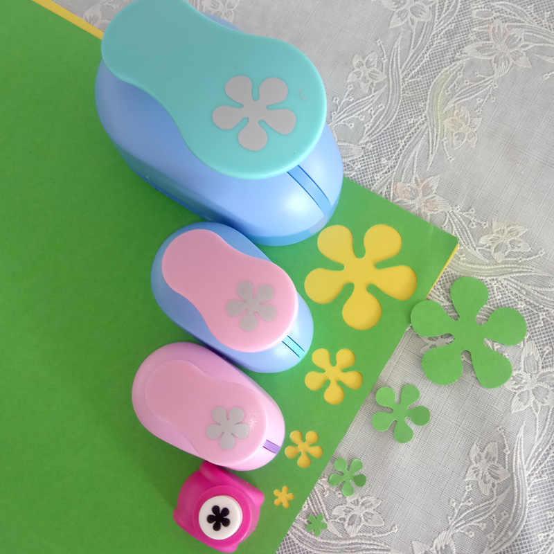 """Envío gratis (3/8 """", 5/8"""", 1 """", 2""""), perforadora para manualidades con forma de flores, cortadora de papel para escuela DIY, perforadora de pétalos de espuma EVA"""