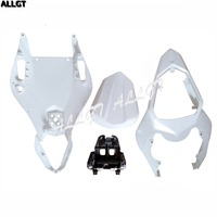 ALLGT Unpainted Rear Seat Cover Tail Section Fairing Cowl For Yamaha YZF R6 2006 2007