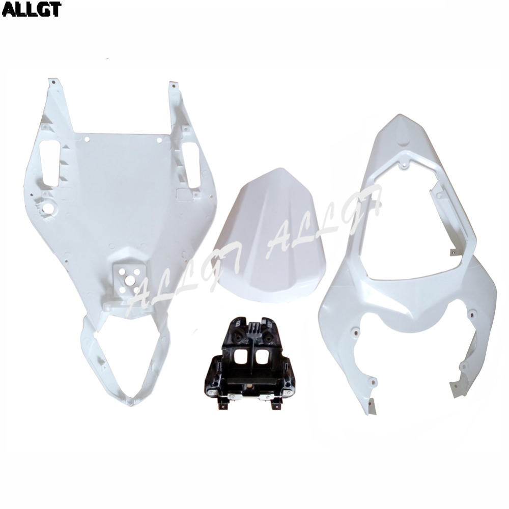 Unpainted Rear Tail Upper /& Lower Fairing Cover Set For YAMAHA YZF-R6 03-05 2004