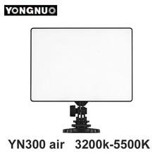 Yongnuo YN 300 YN300 YN-300 aire LED cámara de vídeo 3200 K – 5500 K para Canon Nikon Pentax Olympas Samsung DSLR y videocámara
