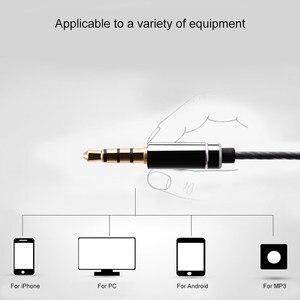 Image 3 - Ollivan MS16 наушники вкладыши 3,5 мм, спортивные наушники для бега с микрофоном, проводное управление, наушники для телефона/ПК/планшета