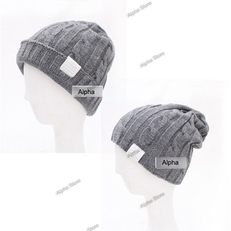 Free Shipping Solid Color Knitted Man Cap High Quality Boy Winter Hat For Male To Keep Warm Men Hats  цены