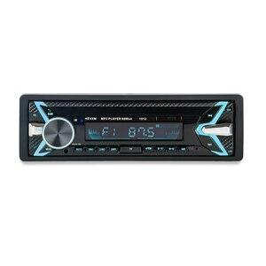 Image 5 - 1012 Auto MP3 Lettore 12 v Blu dente V2.0 Auto Audio Stereo In dash Singolo 1 Din FM Ricevitore ingresso Aux MP3 MMC WMA Radio Player