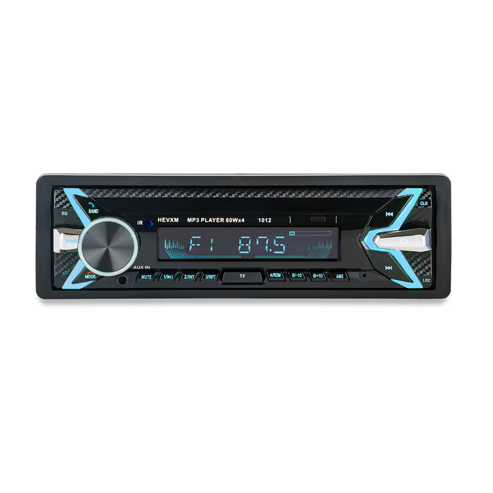 Image 5 - 1012 Car MP3 Player 12V Blue tooth V2.0 Car Stereo Audio In dash Single 1 Din FM Receiver Aux Input  MP3 MMC WMA Radio Player-in Car MP3 Players from Automobiles & Motorcycles