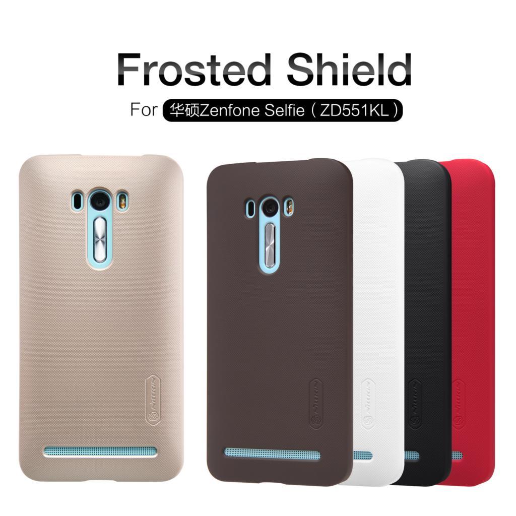 Asus Zenfone Selfie ZD551KL Case Nillkin Frosted Shield Back Cover Case For Asus Zenfone Selfie ZD551KL Gift Screen Protector