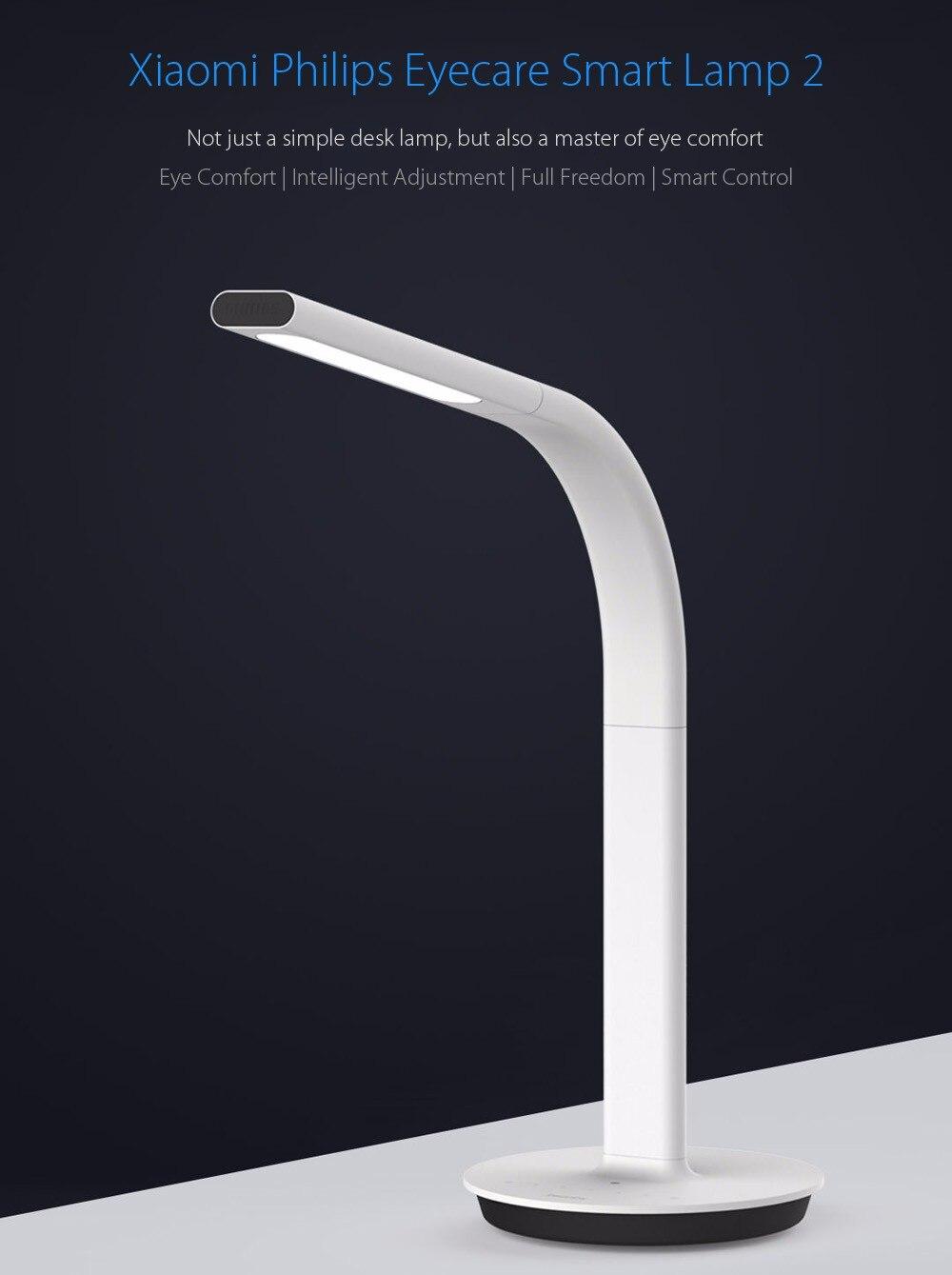 Original Xiaomi Mijia LED Lamp 2 Smart LED Light DeskLamp Desklight 4000K 10W Dual light Table Lamp IOS Android APP Control - 3