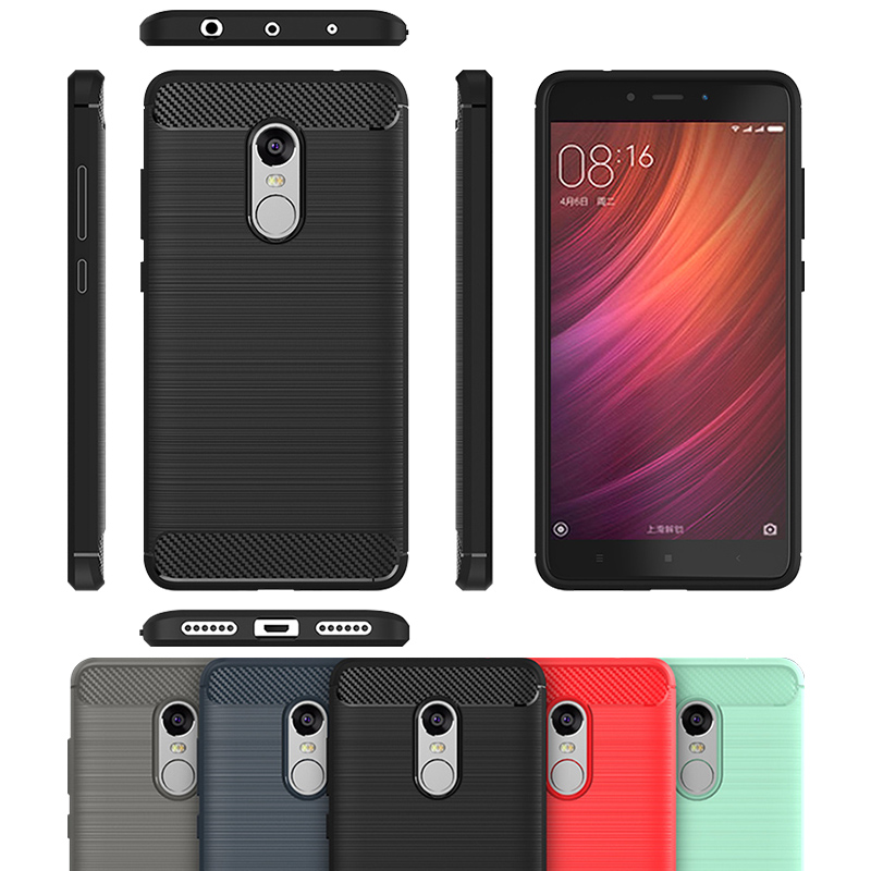 new product cd79f 01779 US $2.99 25% OFF|Case For Xiaomi Redmi Note 4 Cover TPU Soft Carbon Fiber  Anti Knock Anti Skid For xiomi xiam xaomi redmi Note 4 Case xiaom xaomi-in  ...