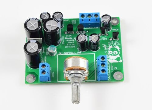 Douk Audio Single-ended Class A Preamp HiFi Transistor Pre-Amplifier Board 2018