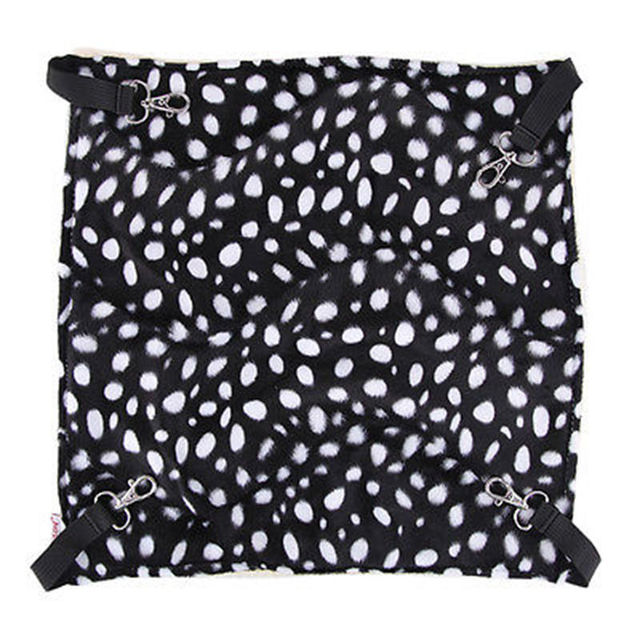 Polk Dot Polyester Pet Rat Rabbit Chinchilla/Cat Cage Hammock Small Dog Bed Cover Bag Blankets Quality