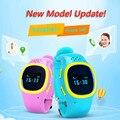 2016 Relógio de Pulso 520 De Emergência SOS Anti Perdido Relógio GPS Tracker para Crianças com Wifi GSM de Telefonia móvel Inteligente App Pulseira Pulseira