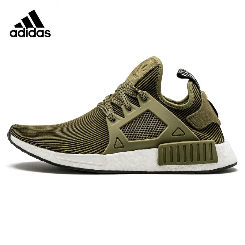 Adidas NMD Primeknit XR1 Men Running Shoes ,Original Sports Outdoor Sneakers Shoes,Army Green ,Breathable S32217 EUR Size M