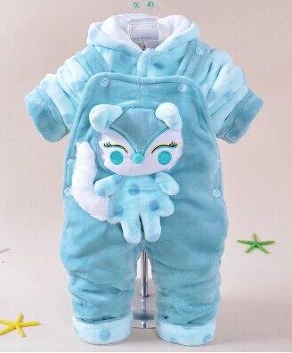 neue warme Kleidung der Baby-Baby-Karikatur von 2014 stellt Hoodie + - Babykleidung - Foto 3