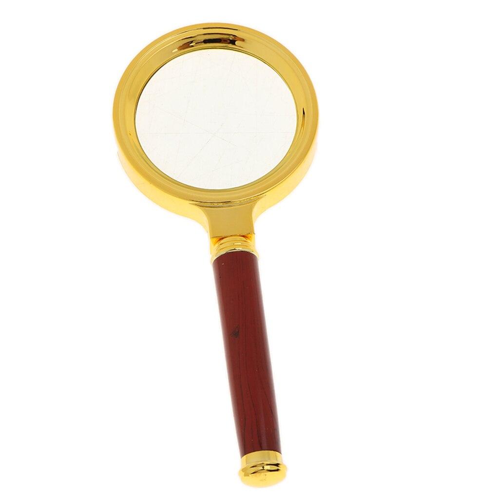 Vintage Magnifying Glass Handheld Magnifier For Reading