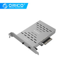 ORICO PRS2 Desktop PCI-E M.2 Disk Array Card SSD Stainless Steel High-speed Raid Hard Drive Expansion Card(China)