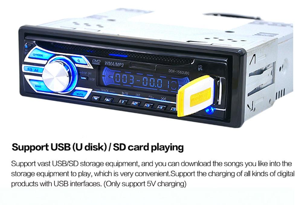 Aliexpress Buy Big Power Car Interior Electronics Radio Cd Rhaliexpress: Car Radio With Cd Player At Gmaili.net