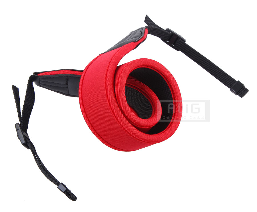 10 Pieces Camera Shoulder Soft Strap Elasticity Red Color for Canon 550D 600D 700D 750D 5D2 7D Mark II 100D SX520 SX60 HS