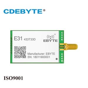 Image 1 - E31 433T33D AX5043 UART 433 mhz 2W SMA Antena de Longo Alcance Monte uhf Transceptor Sem Fio 433 mhz Receptor Transmissor rf módulo