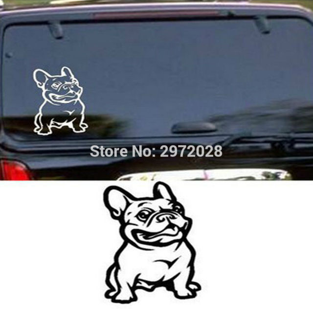 Lustige Pitbull Super Hero Hund Reflektierende Kreative Auto