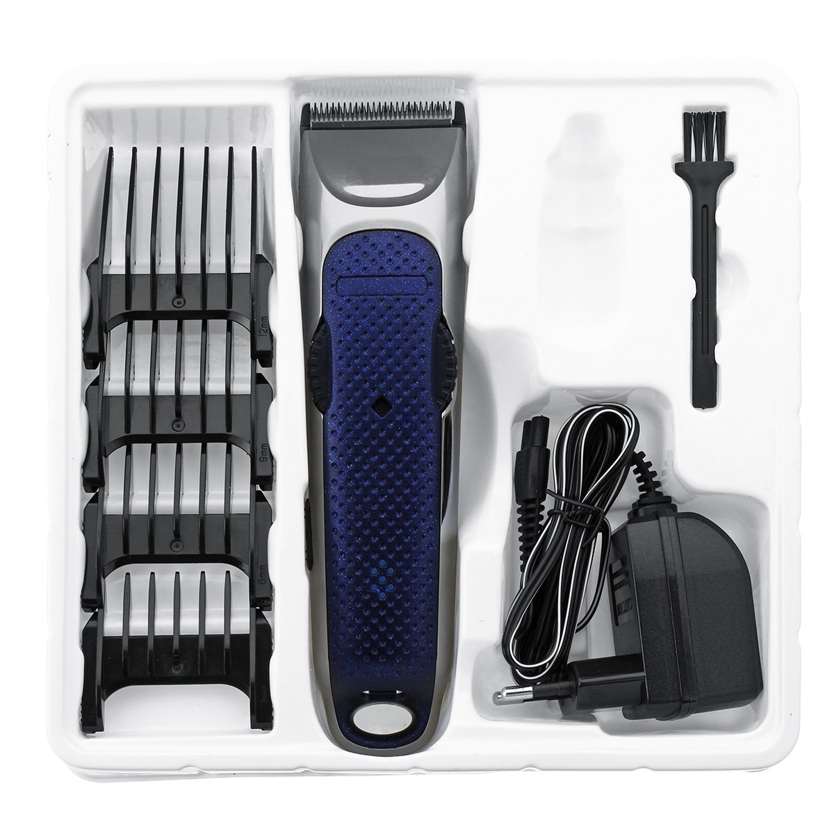 220-240V 50Hz 4 in 1 Rechargeable Waterproof Hair Trimmer Titanium Hair Clipper Electric Hair Trimmer Tools цена