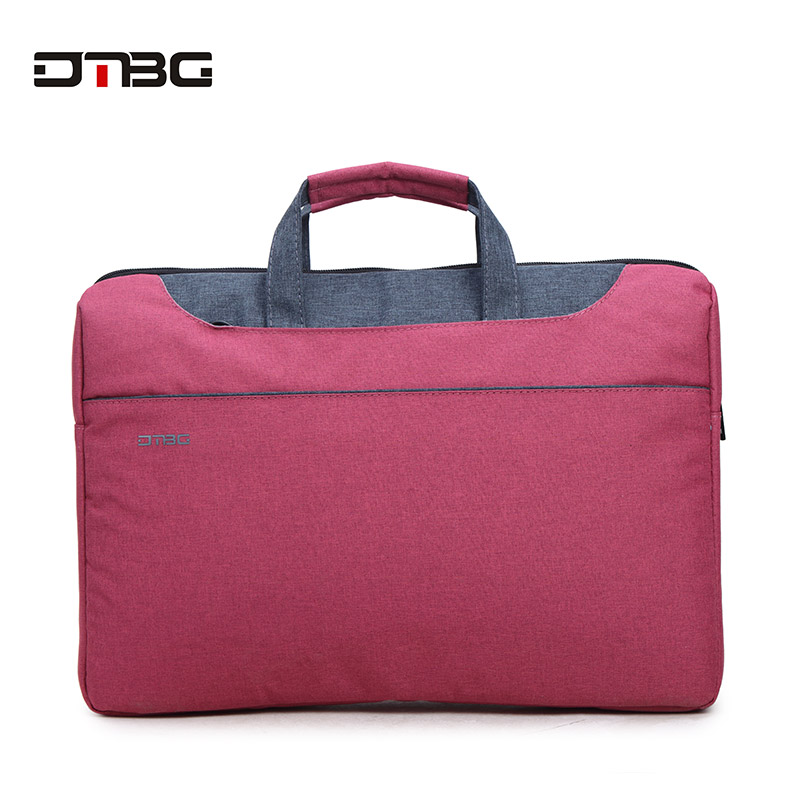 DTBG Brand Laptop Handbags 2019 Women Bolsa Men Business Notebook Shoulder Bag Briefcase Waterproof Maletin Mujer Tote Briefcase