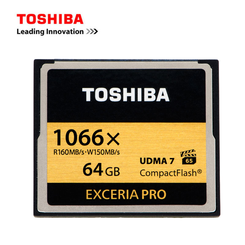 TOSHIBA Extreme Pro CompactFlash Memory Card 1066X 32GB 64GB CF Card Compact Flash Cards High Speed 1066x R-160MB/s W-150M UDMA7 2008 donruss sports legends 114 hope solo women s soccer cards rookie card