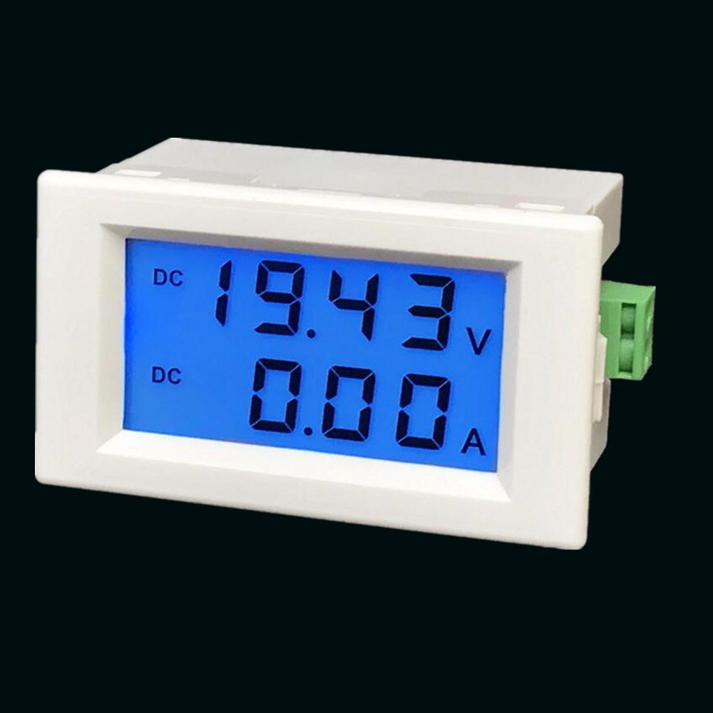 D85-3051 Dual Display DC200V 600V 10A 50A 100A Digital Digital Display DC Voltage And Current Meter