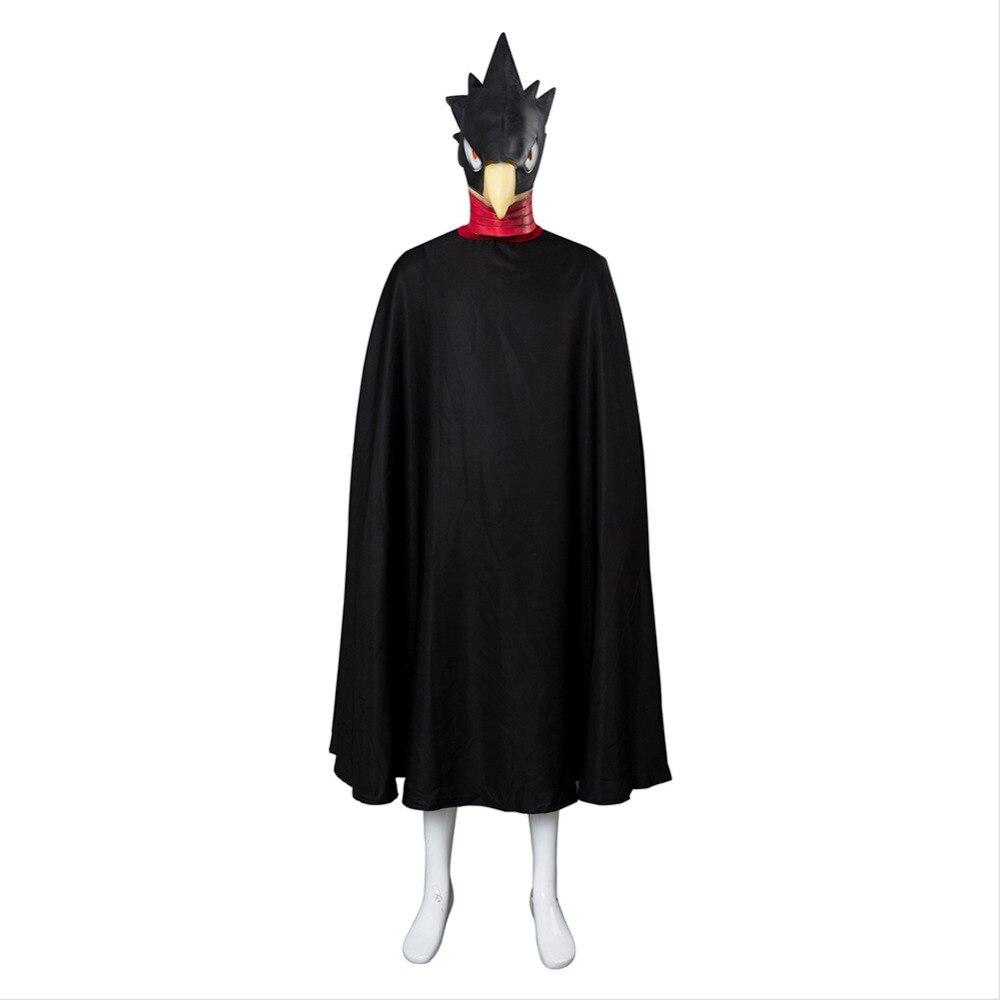 My Hero Academia Boku no Hero Academia Cosplay Tokoyami Fumikage Eagle Cosplay Costume Cloak