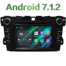 "7"" 2GB RAM Quad Core Android 7.1.2 4G WiFi SWC Car DVD Multimedia Player Radio Stereo For Mazda CX-7 2007-2015 GPS Navigation"