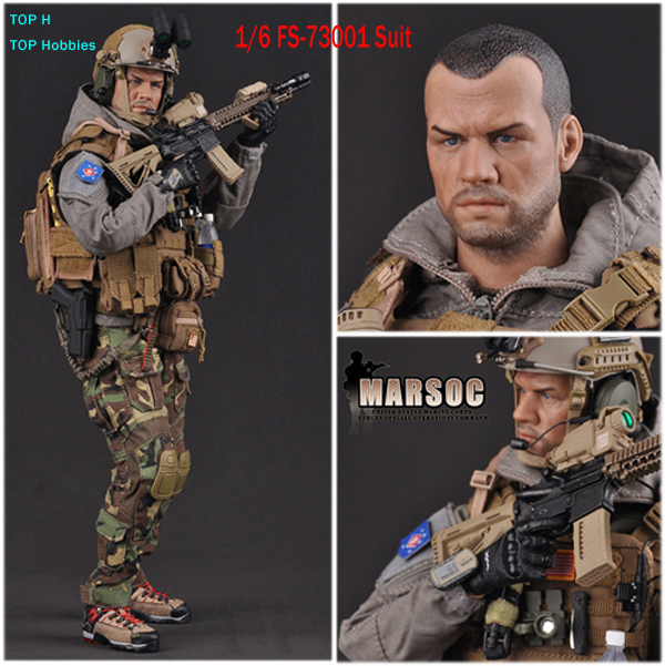 FLAGSET 1/6 MARSOC The United States Forces Marine Corps FS-73001 Soldiers Suit Set Collection 12 Inch Action Figure DIY ap002 1 6 scale 45th president of the united states donald trump figures and clothing set