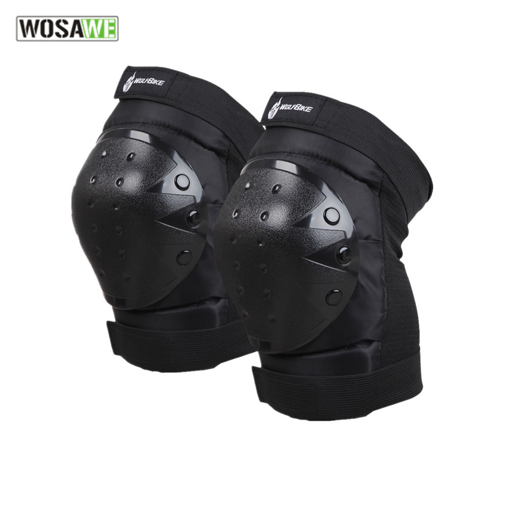 WOSAWE motocross Knee pad Protector riding ski snowboard Tactical Skate Protective Knee Guard motorcycle knee support