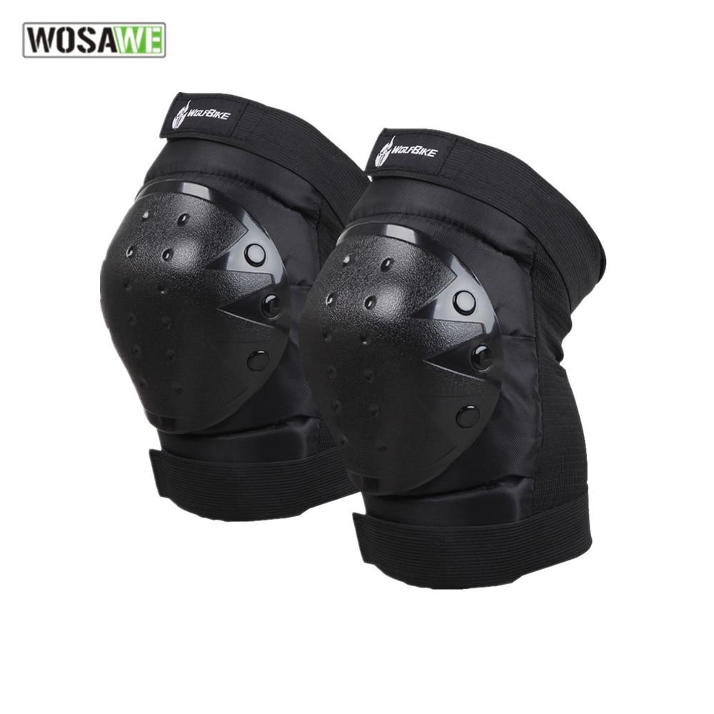 WOSAWE motocross Knie pad Protektor reiten ski snowboard Taktische Skate Schutz Knieschutz motorrad knie unterstützung