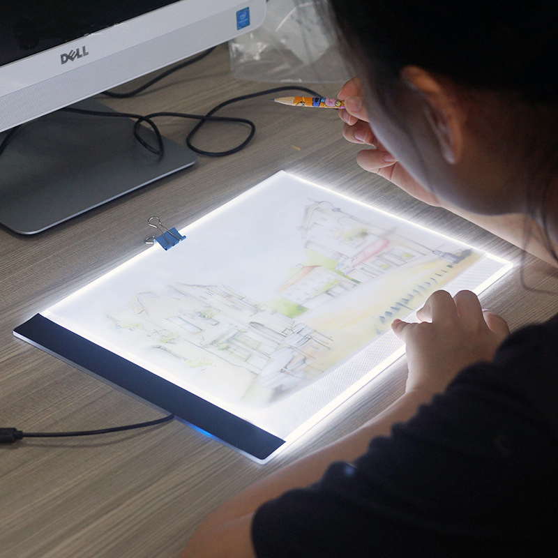 2018 Promotion Direct Selling Ultrathin 3.5mm A4 Led Light Pad Diamond Tracing Painting Tablet Apply To Embroidery Cross Stitch
