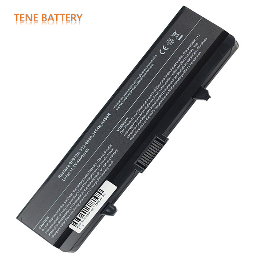 Free Shipping 11.1V 4400/5200mAh 6 Cell OEM Replacement Laptop Battery for <font><b>Dell</b></font> <font><b>Inspiron</b></font> 1440 1440n <font><b>1750</b></font> 1750N K450N PP42L image