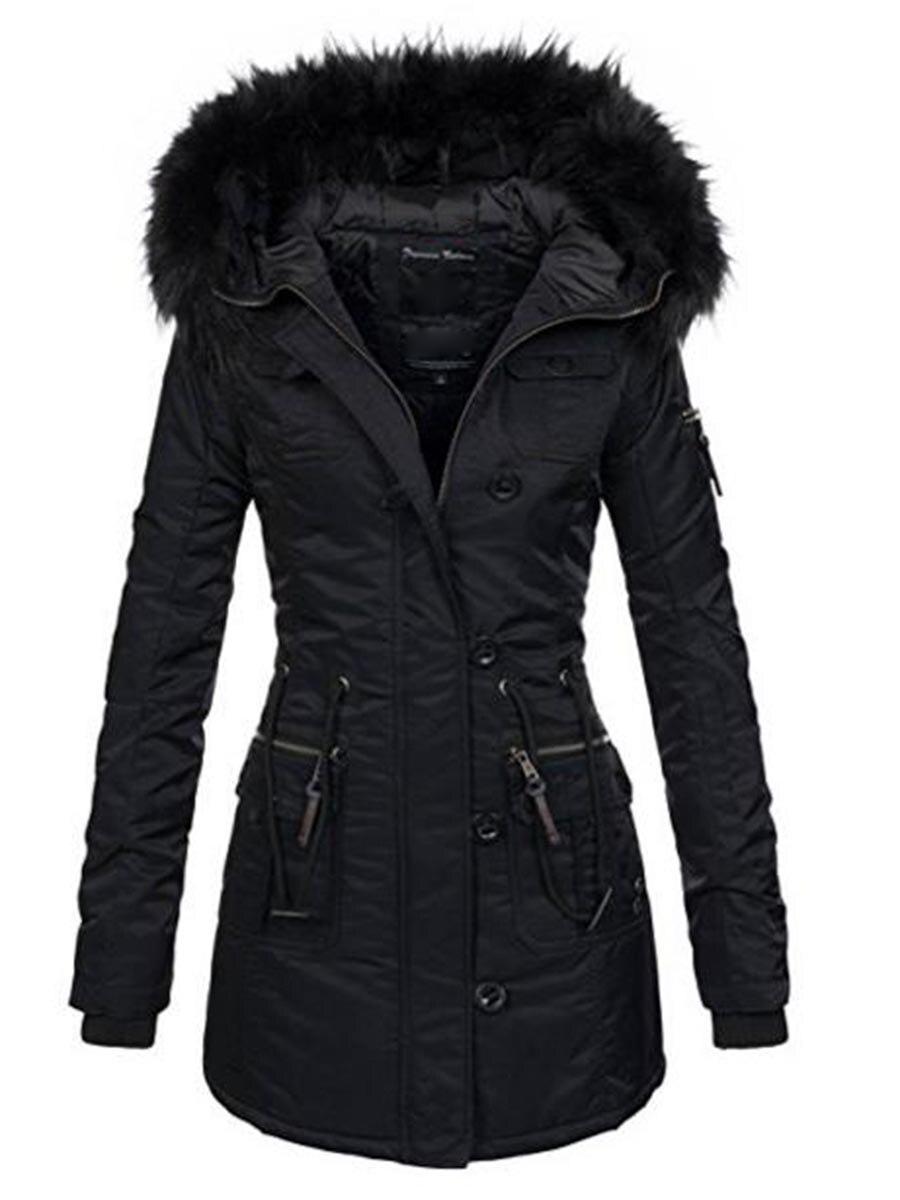 Rosetic Harajuku Готический для женщин верхняя одежда пальто искусственный мех плюс размеры Осень Ветрозащитный тонкий с капюшоном V образным выре...