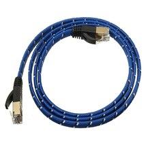 # B21 RJ45 CAT 7 CAT7 Интернет LAN патч плоский сетевой кабель Шнур B21