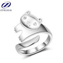 Популярные высококачественные модные женские открытые кольца