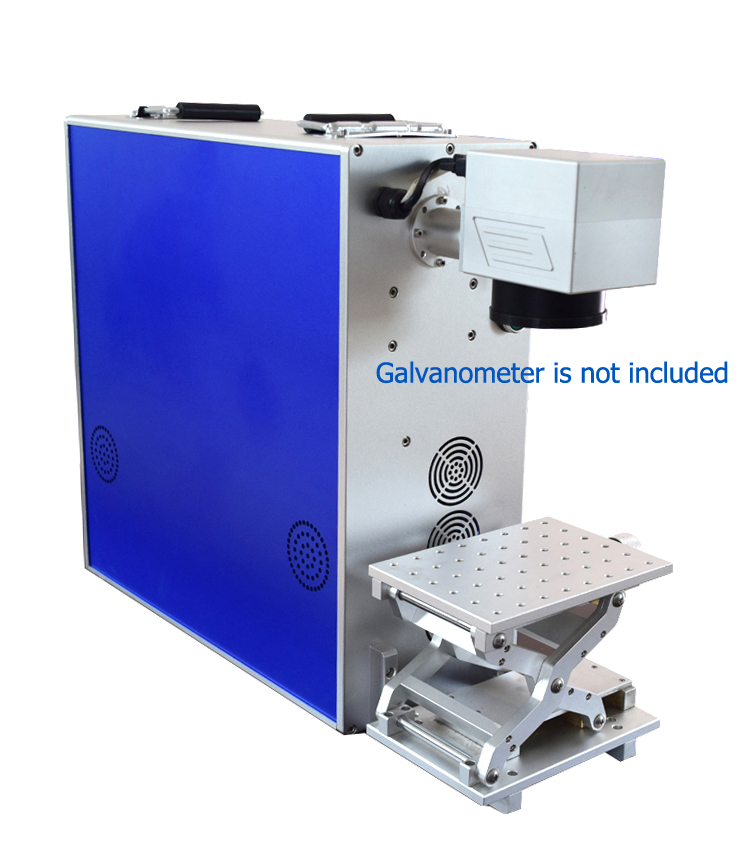 Portable Fiber Laser Marking Machine Cabinet Marker Case with Z-Axis Work Table 1064nm Parts IPG Raycus Laser Source Wholesale