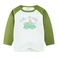 2018 High Quality Baby Boys Long Sleeve T Shirt Toddlers Cotton Top Tee Kids Cute Patterns