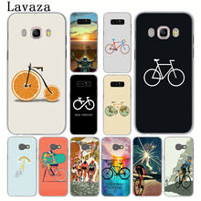 Lavaza BIKE CYCLING Hard Phone Case for Samsung Galaxy Note 10 9 8 A9 A8 A7 A6 Plus 2018 A3 A5 2017 2016 2015 A2 Cover(China)