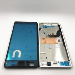 Image 2 - Original Middle Mid Plate Frame Bezel Housing Cover For Sony Xperia M5 E5603 E5606 E5653 M5 Dual Middle Frame Board Replacemenrt