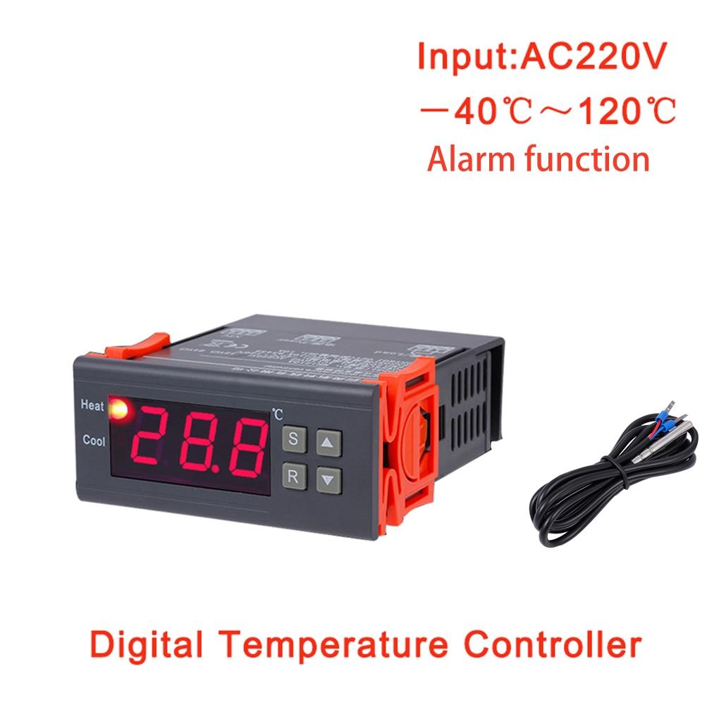 MH1210B AC220V termostato digital termostato electrónico de control de temperatura calefacción refrigeración controlador regulador térmico