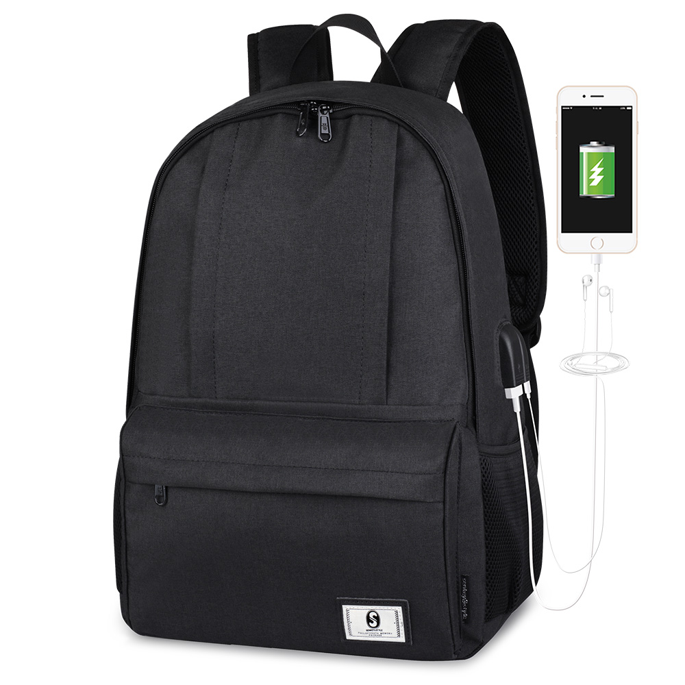 Рюкзак для студентов колледжа водоотталкивающий нейлоновый рюкзак мужчин