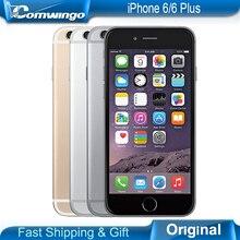 Desbloqueado original apple iphone 6 marca más el 4.7 y 5.5 de la pantalla teléfono 8MP/Pixel Apple ios9 LTE 16/64/128 GB ROM 1 GB RAM Teléfono Móvil