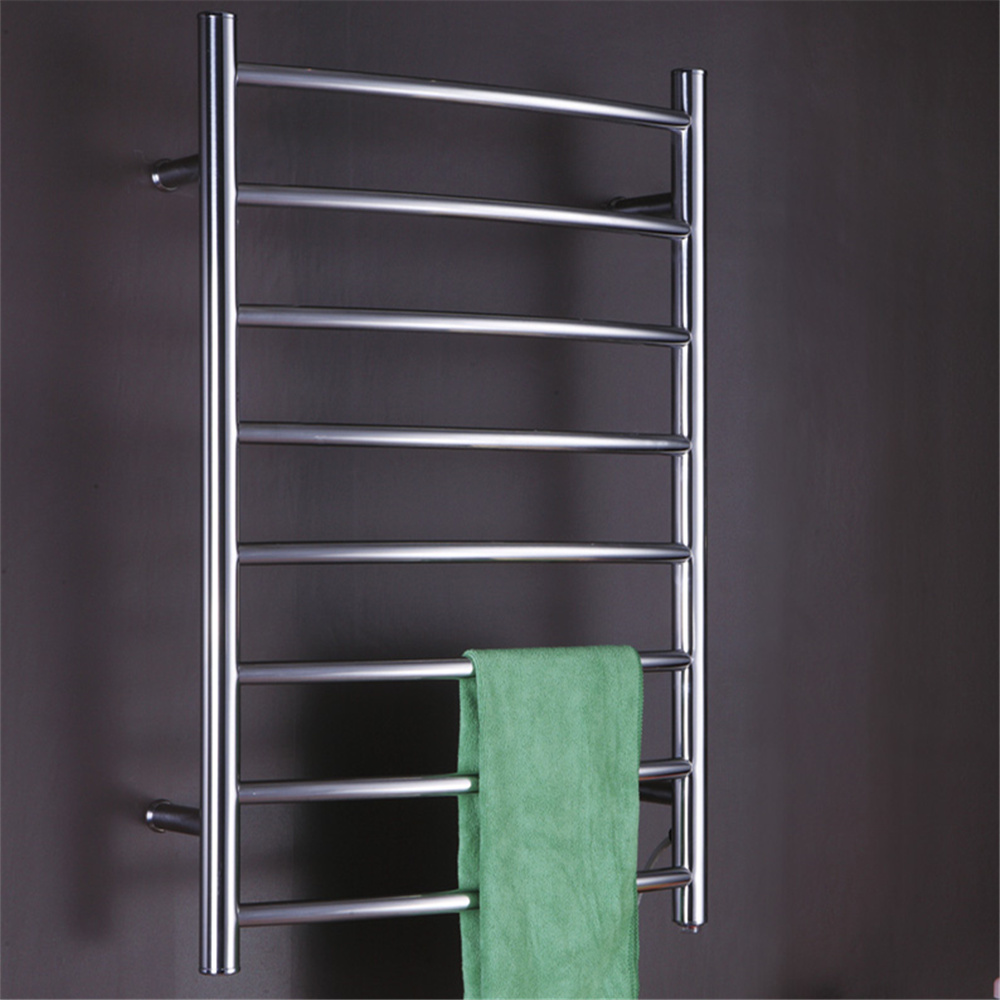 Wall Mounted towel warmer electric heated towel rail stainless steel bathroom accessories heated towel racks/towel dryer TW-RC4 все цены