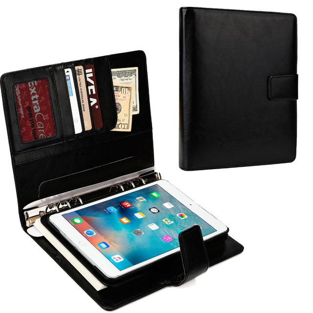 2016 notebook planner case for apple ipad air 1 classic design card