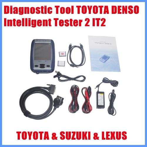 2013 professional auto Diagnostic Tool TOYOTA DENSO Intelligent Tester 2 IT2 for Toyota and Suzuki