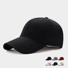 Men Women Plain Curved Sun Visor Baseball Cap Hat Solid Colo