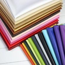Cuero de PU lychee grande de 50x140cm, Tela de cuero sintética, costura de cuero artificial de PU. Tapicería de cuero