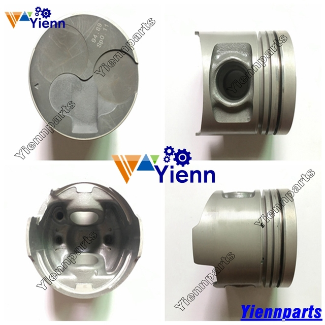 US $240 0 |For Mitsubishi 4M40 NEW 4M40T Piston ME200689 ME201780 ME203223  For PAJERO & MONTERO 2 8 LTR 4M40 T Diesel Engine Spare Parts-in Pistons,