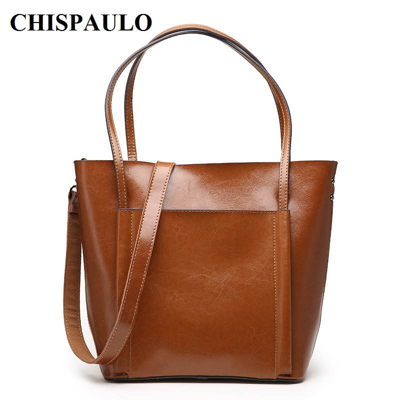 CHISPAULO 2017 Genuine Leather Handbags Luxury For Women Tassel Women's Messenger Shoulder Bags Bolsa Femininas Fashion new C138
